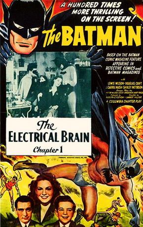 Batman 1943 Serial Poster