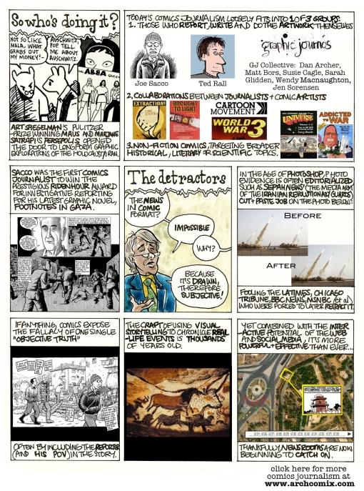 jornalismo em quadrinhos