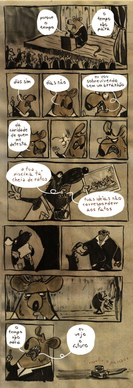 quadrinhos rasos