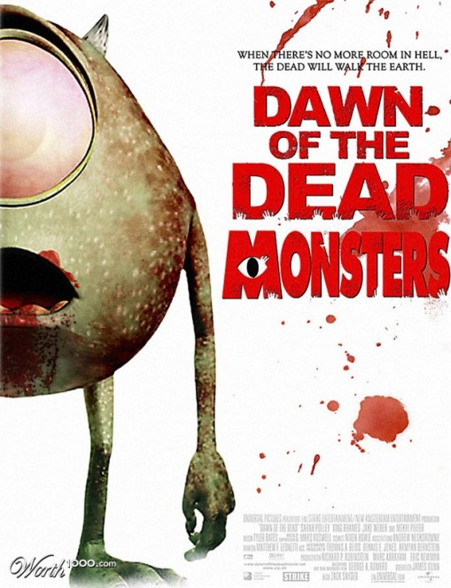 Dawn of the dead monsters