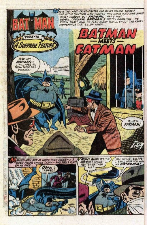 batman vs. fatman