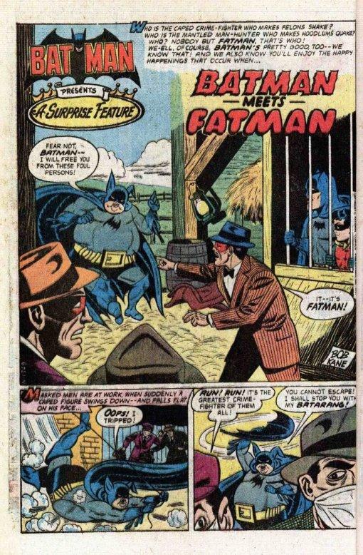 batman vs. fatman