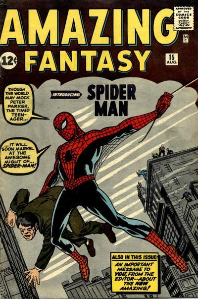 1. Amazing Fantasy #15