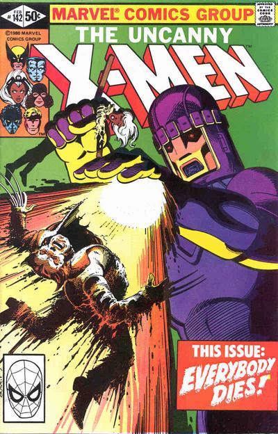 15. Uncanny X-Men #142