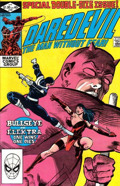 19. Daredevil #181