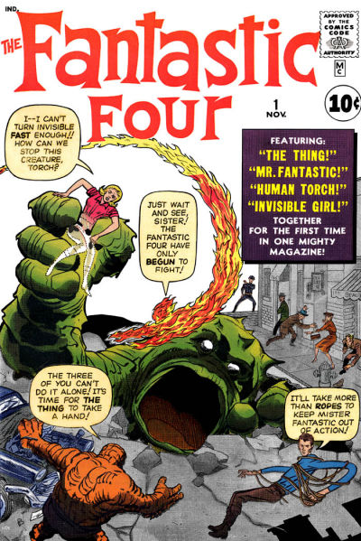 2. Fantastic Four #1