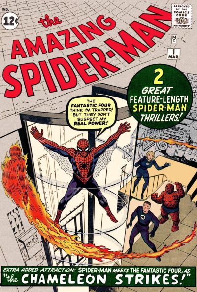 22. Amazing Spider-Man #1
