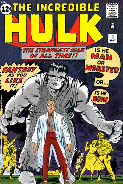 24. The Incredible Hulk #1