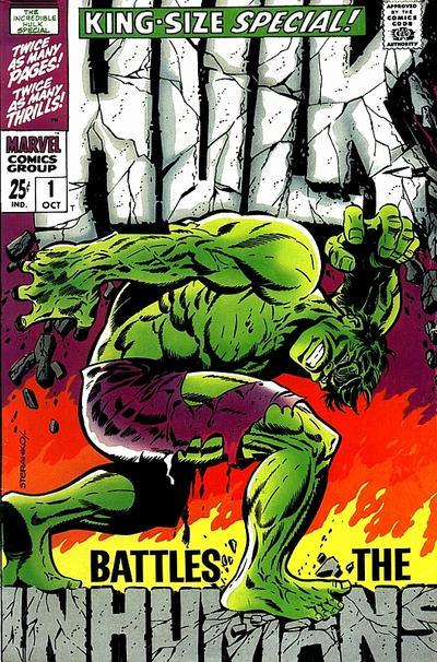 25. The Incredible Hulk Special #1