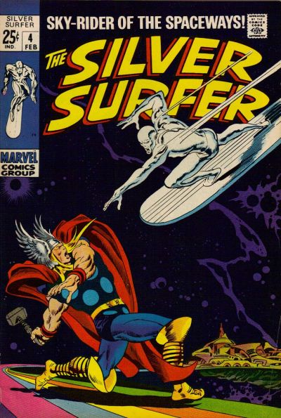27. Silver Surfer #4