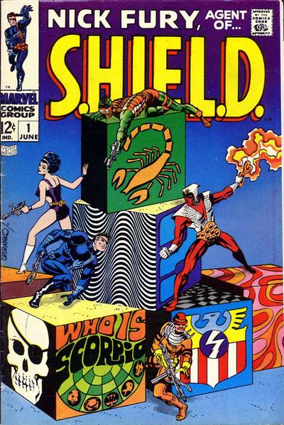 28. Nick Fury, Agent of S.H.I.E.L.D. #1