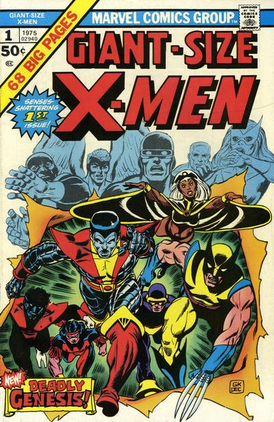 3. Giant-Size X-Men #1