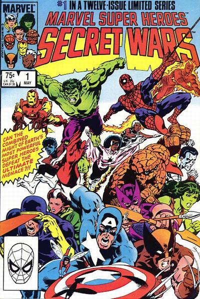 30. Marvel Super Heroes - Secret Wars #1