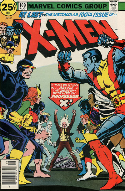 31. X-Men #100