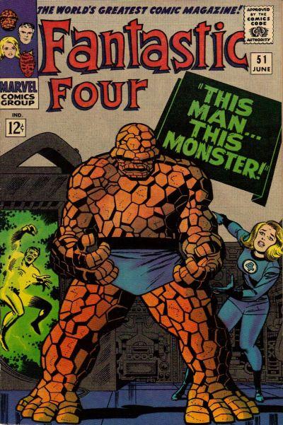 32. Fantastic Four #51