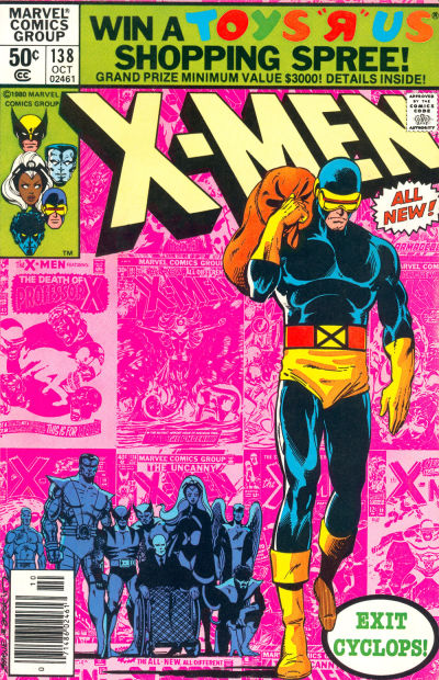 33. X-Men #138