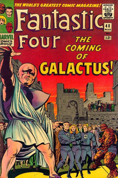 34. Fantastic Four #48