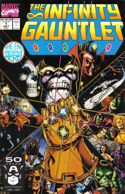 37. Infinity Gauntlet #1