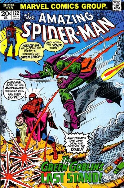 38. Amazing Spider-Man #122
