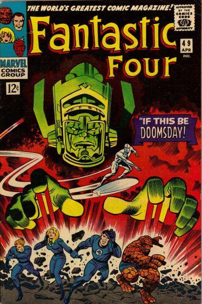 39. Fantastic Four #49