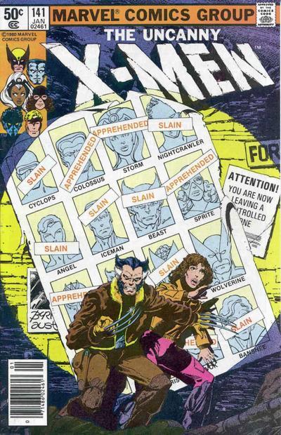 4. X-Men #141