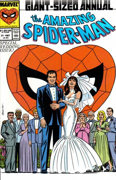 40. Amazing Spider-Man Annual #21