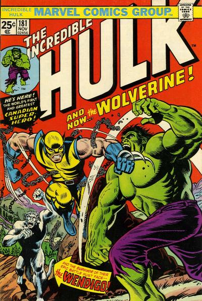 41. The Incredible Hulk #181