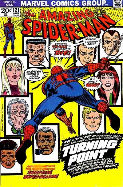 42. Amazing Spider-Man #121