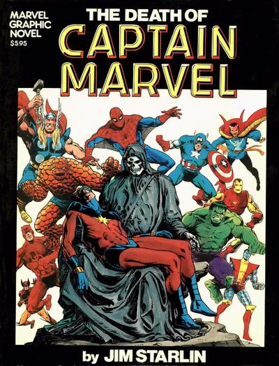 45. Marvel Graphic Novel - The Death of Captain Marvel