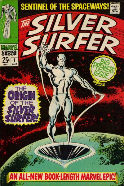 48. Silver Surfer #1