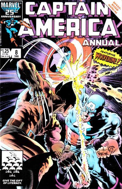 50. Captain America Annual #8