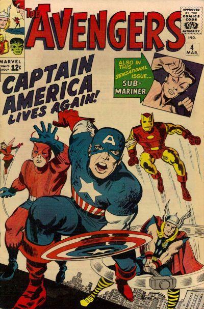 7. Avengers #4