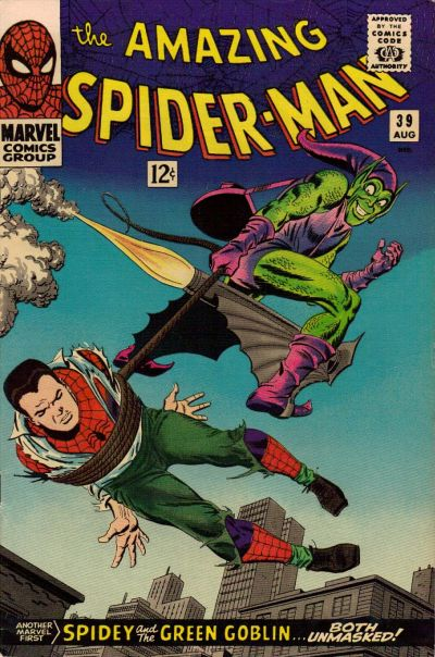 9. Amazing Spider-Man #39