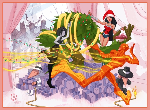 DC_Comics_Holiday_Card_2011