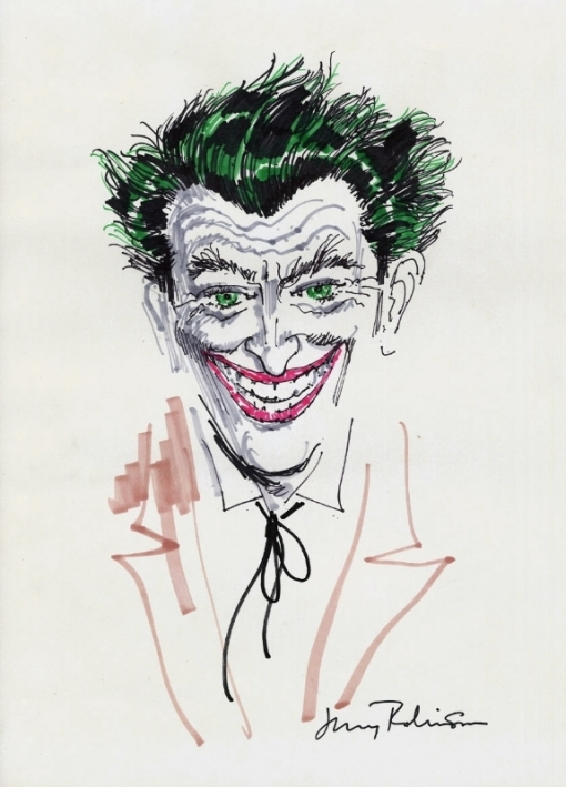 JERRY ROBINSON COLOR JOKER