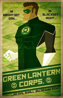 lanternas verdes