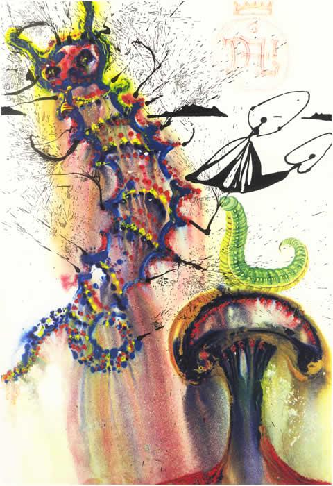 06- Conselho de uma lagarta