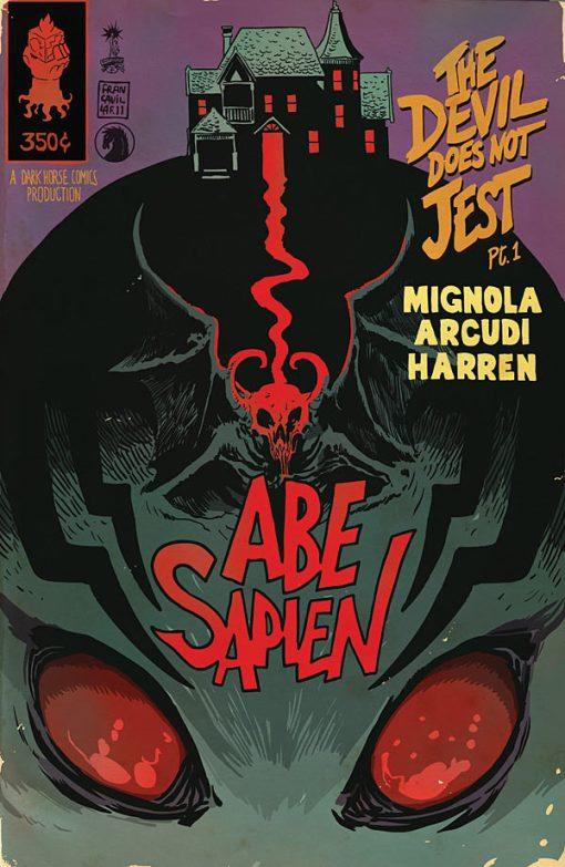 Abe Sapien - The Devil Does Not Jest #1, by Francesco Francavilla