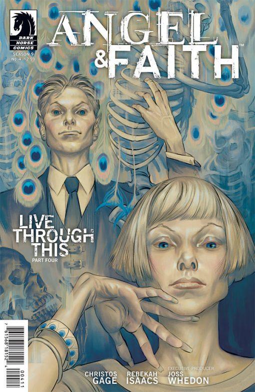Angel & Faith #4, by Steve Morris
