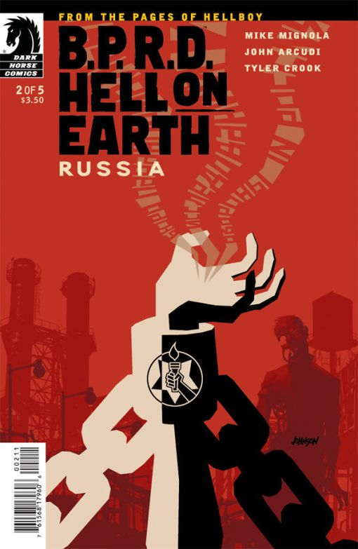 B.P.R.D. Hell on Earth - Russia #2, by Dave Johnson