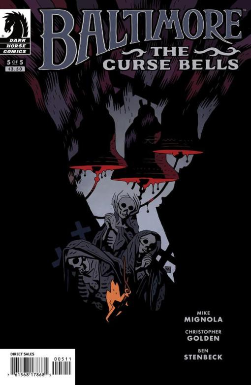 Baltimore - The Curse Bells #5, by Mike Mignola