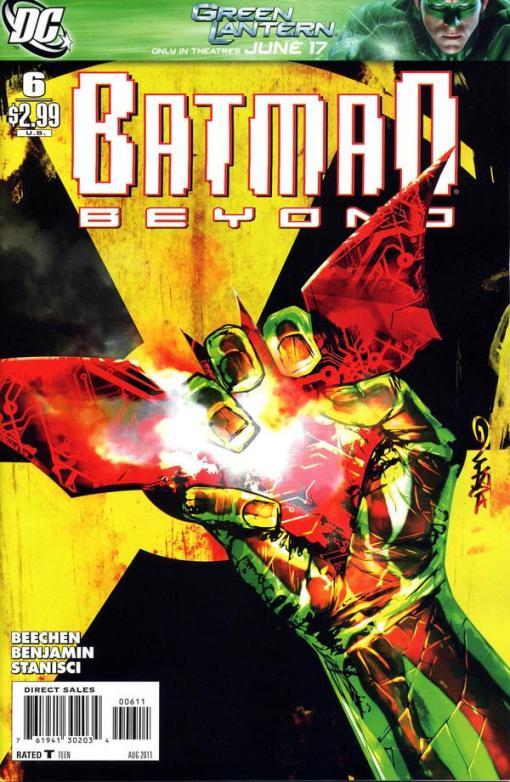 Batman Beyond #6, by Dustin Nguyen
