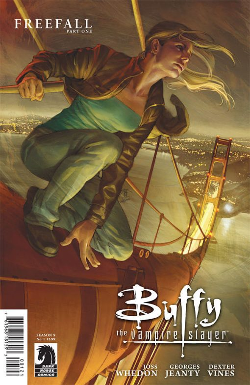 Buffy the Vampire Slayer, Season 9 #1, by Jo Chen