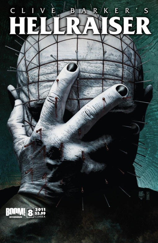 Clive Barker's Hellraiser #8, by Timothy Bradstreet