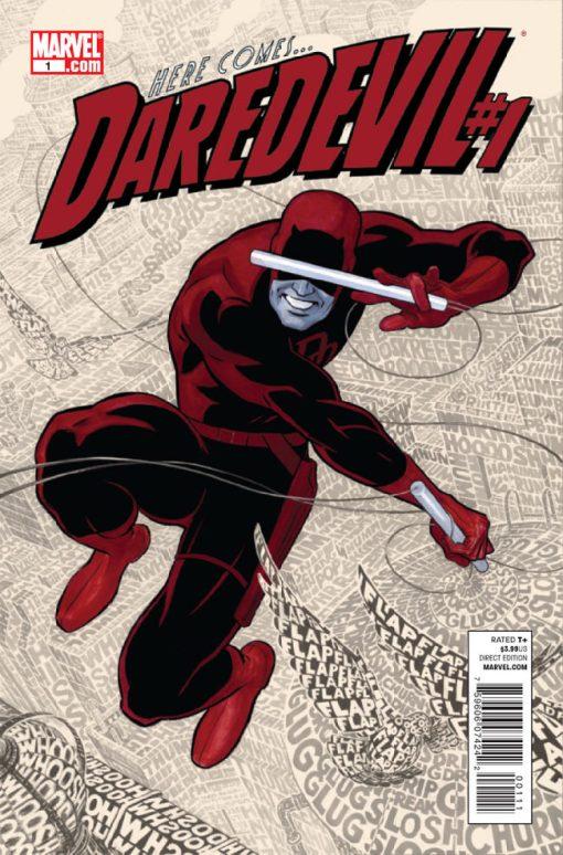 Daredevil #1, by Paolo Rivera