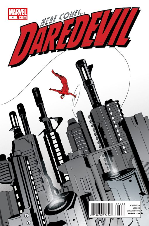 Daredevil #4, by Marcos Martin