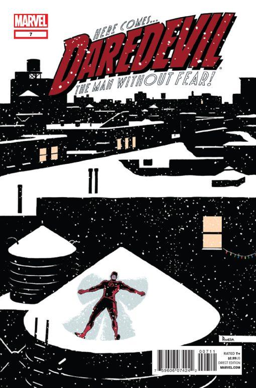 Daredevil #7, by Paolo Rivera