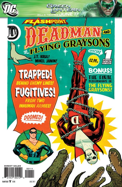 Flashpoint - Deadman and the Flying Graysons #1, by Cliff Chiang and Jared K. Fletcher