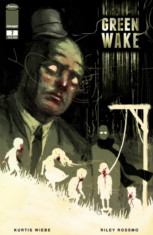 Green Wake #7, by Riley Rossmo