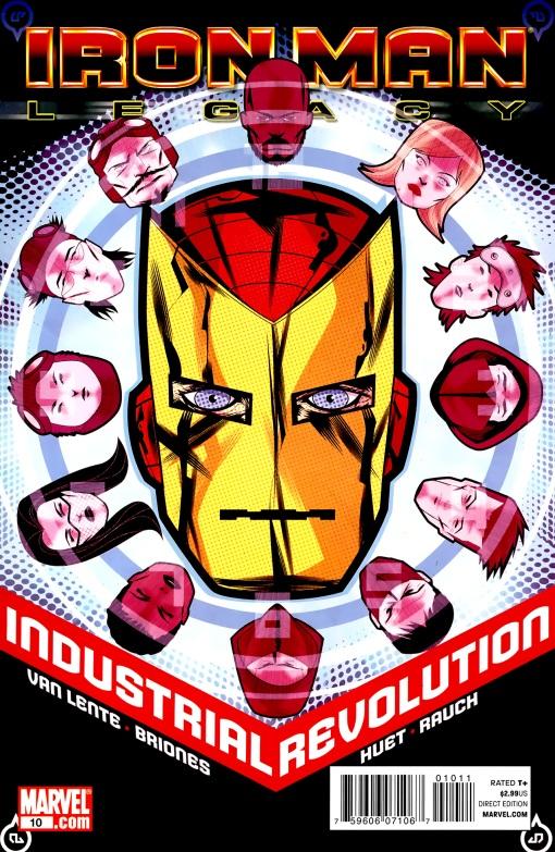Iron Man Legacy #10, by Juan Doe